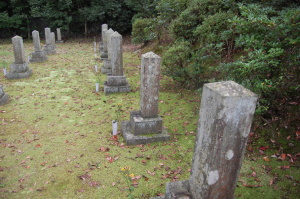 明治11年から大正12年まで病没した下士官の墓地(旧大津陸軍墓地)