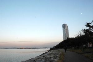 琵琶湖の夕暮れ その2