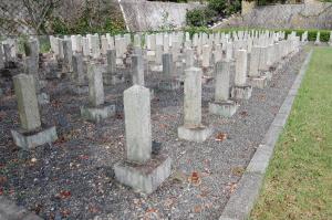 旧大津陸軍墓地Kブロックの形状と連番