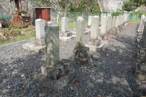 Kブロック第8列目(後ろから2番目)@大津陸軍墓地