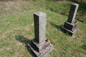 二番目に古い「喜多圭三郎墓」(21歳)