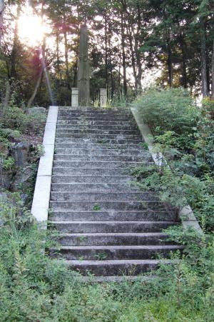 西南戦争の「紀念碑」