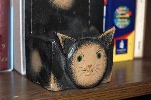 あやうく捨てそうになった黒ネコ