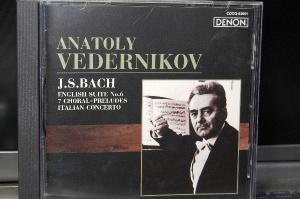 ANATOLY VEDERNIKOV : J.S.BACH ENGLISH SUITE №6