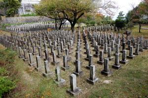 日清戦争戦病死者の墓地@大津市