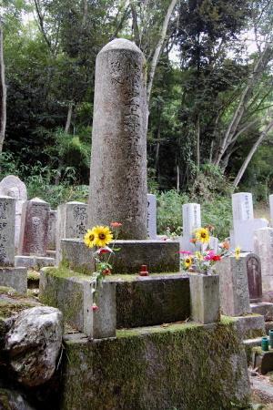 「陸軍歩兵上等兵藤澤徳治郎碑」@田中共同墓地