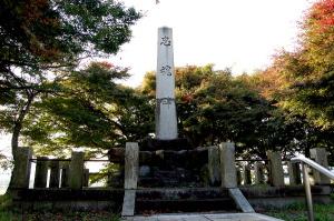 広瀬村の忠魂碑(昭和3年11月建立:陸軍大将一戸兵衛書)