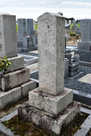 西南戦争戦死者・日置住吉の墓碑@高島市(三尾里)