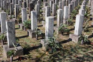 日清戦争の個人墓碑@旧大津陸軍墓地