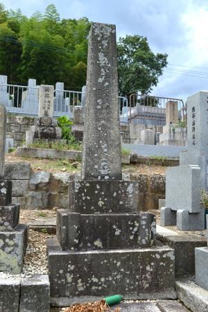 陸軍歩兵少尉富永東一墓(正面)