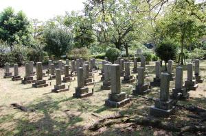 大津旧陸軍墓地 エリアF