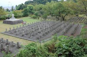 旧大津陸軍墓地 Kブロック