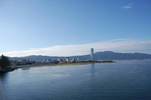 近江大橋から見えるわがまち大津
