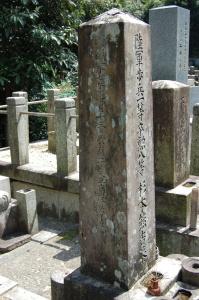 一般墓地にしかない日露戦争戦没者の墓石