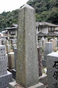 奉天会戦で戦病死した24歳上等兵の墓碑