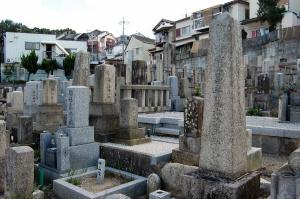 別保墓地には日露戦争の墓石が二基あります