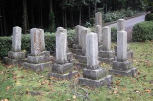 日清戦争期間に亡くなった下士官の墓地