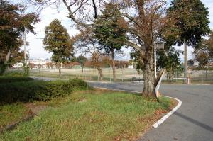 グランドは更地になっている自衛隊今津第二営舎