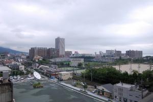 地上6階から琵琶湖をさがせ!