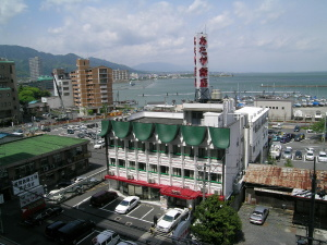 琵琶湖見えています
