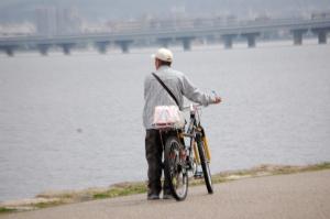 自転車ひとつで一人旅