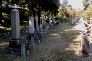 64年ぶりの陸軍墓地訪問