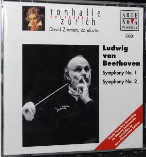 David Zinman Tonhalle Orchestra Zurich : Ludwig van Beethoven Symphony №1