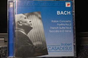 obert CASADESUS : BACH Italian Concerto, Partita №2, French Suite №6, Toccata in E minor
