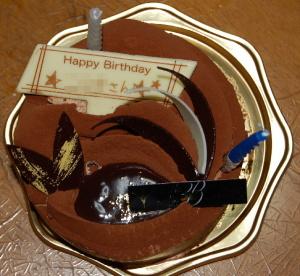 KくんのBirthday Cake