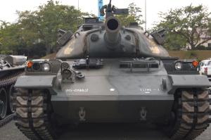 第十戦車大隊の74式戦車@今津駐屯地