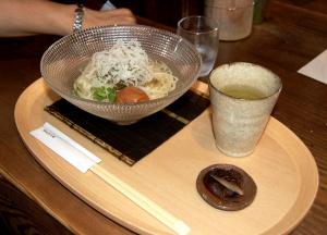 竹田市でいただいた素麺