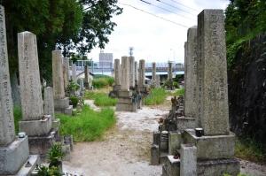 一般墓地から区別された戦死者の墓地@長蓮寺墓地