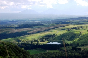 久住高原の風景