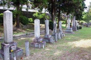 大津市で見ることができる日露戦争の墓碑 ~その2 将校の墓地~