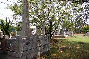 和邇・中浜の戦死者の墓地