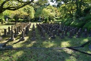 旧大津陸軍墓地の一部